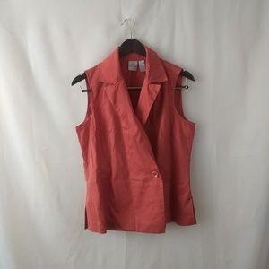 Tops - Felicia & Company Burnt Orange Vest